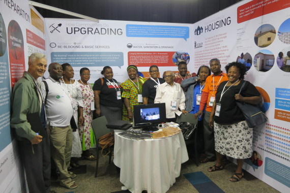 Father Jorge at National Human Settlements Indaba in Johannesburg