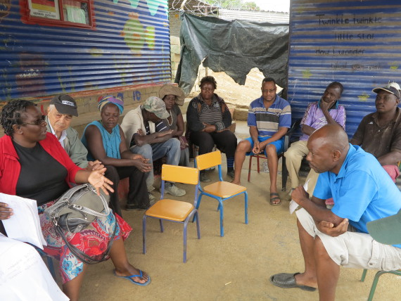 Meeting with Etuyeni Savings group