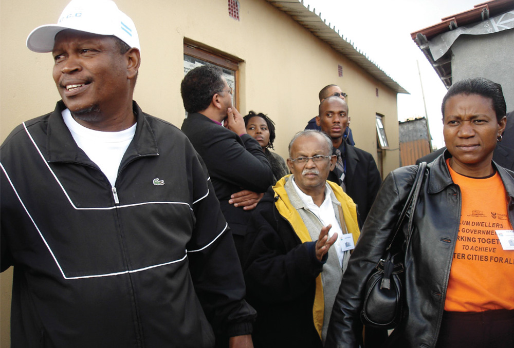 House opening in Philippi Western Cape in 2006