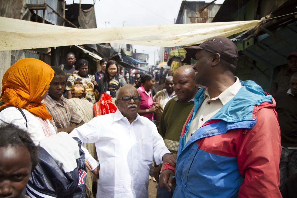 Jockin visiting Mathare Slum_1