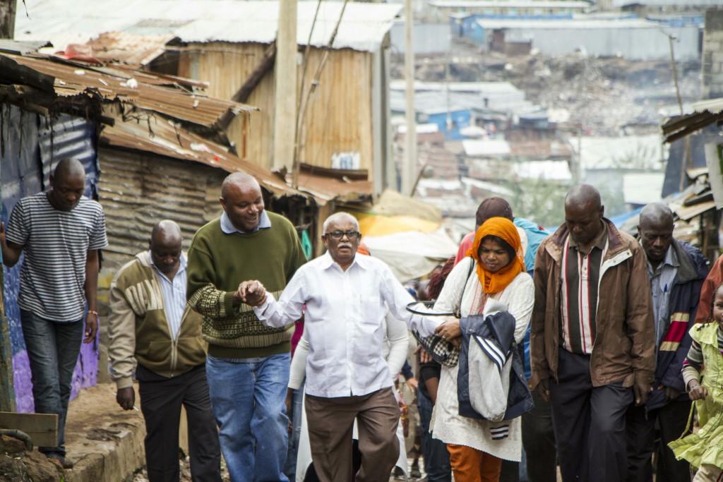 Jockin visiting Mathare Slum_2