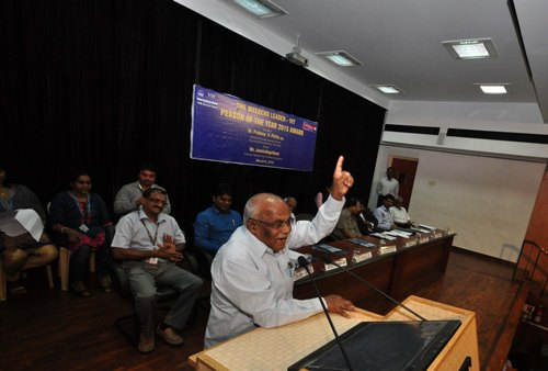 Jockin Arputham the Person of the Year Award Function at VIT Vellore, Tamilnadu. Pictures by H.K.Rajashekar.
