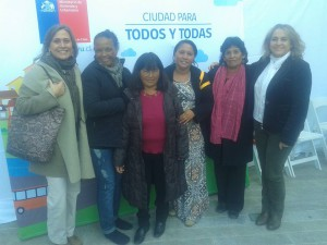 LEADERS WITH CHILEAN MINISTRY OF HOUSING STAFF